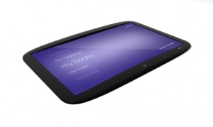 Video Conference Tablet Example