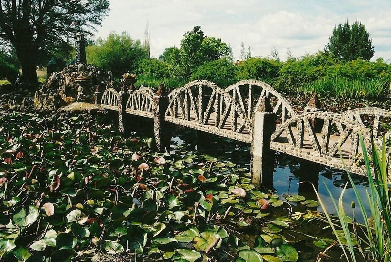 Bridge at rock garden - Easter Blessings